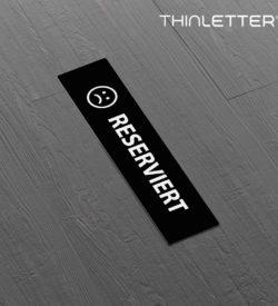 Miniletter Reserviert