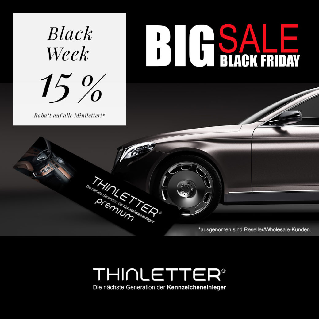 Thinletter Deutschland Black Friday 2019
